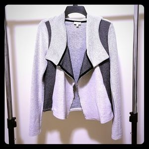 Channing French Terry Hooded Cardigan